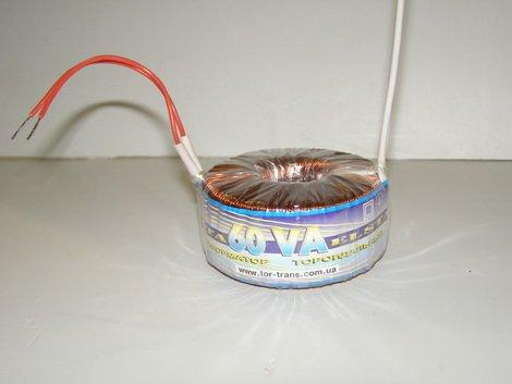 Трансформатор тороидальный 220В на 12В для запитки галогеновых ламп